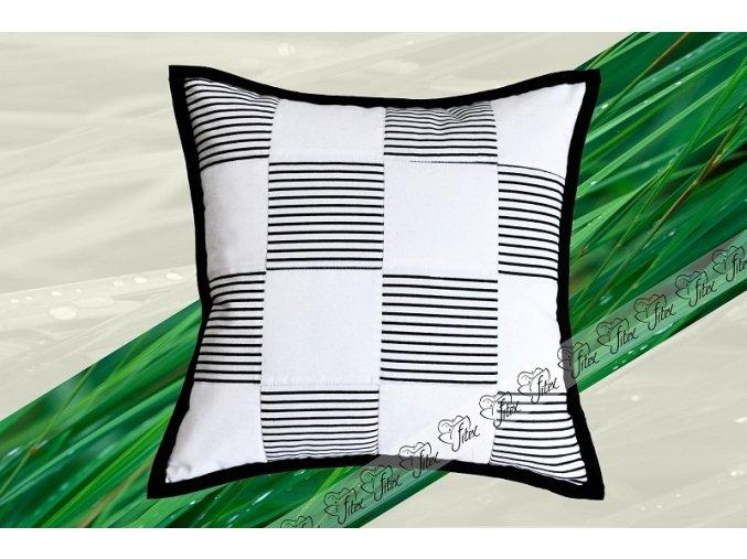 Fitex Bavlněný polštářek patchworkový TRENTO