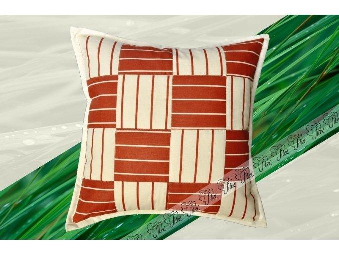 Fitex Bavlněný polštářek patchworkový MERÁNO