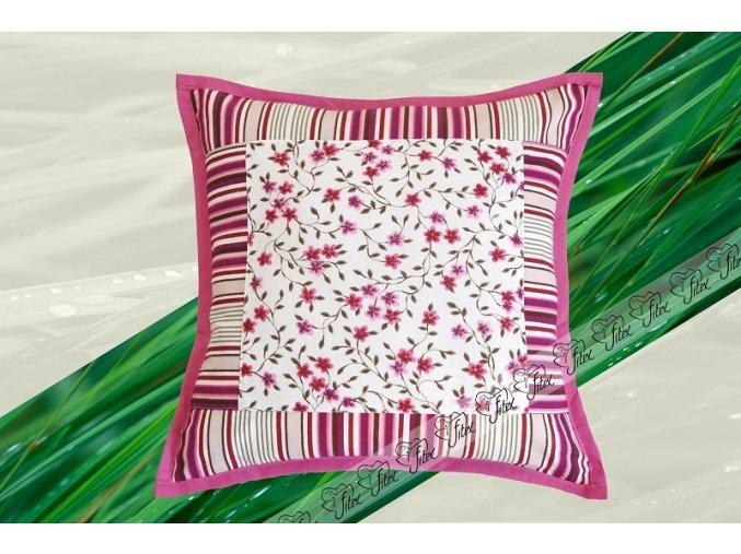 Fitex Bavlněný polštářek dekorační ROMANCE