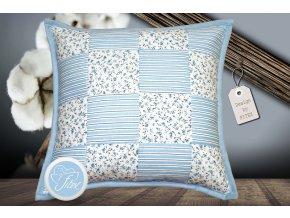 Fitex Bavlněný polštářek patchworkový MARINA