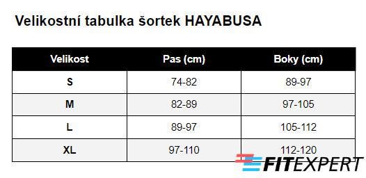 sortky_hayabusa_velikostni_tabulka
