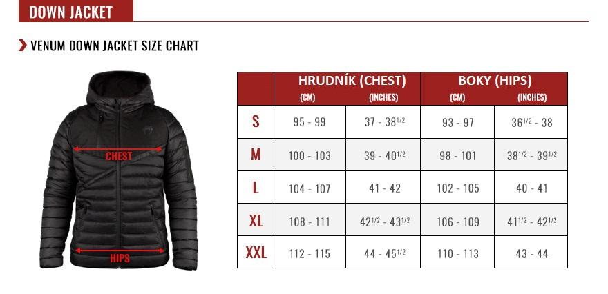 velikostni_tabulka_venum_down_jacket_1