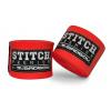 badboy stitch premium hand wraps red f1
