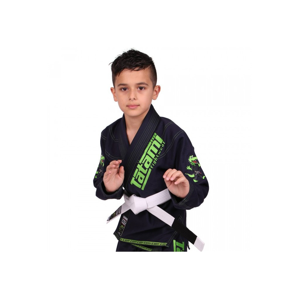 Dětské BJJ kimono / gi NEW MEERKATSU KIDS ANIMAL - NAVY - Tatami Fightwear + bílý pás ZDARMA