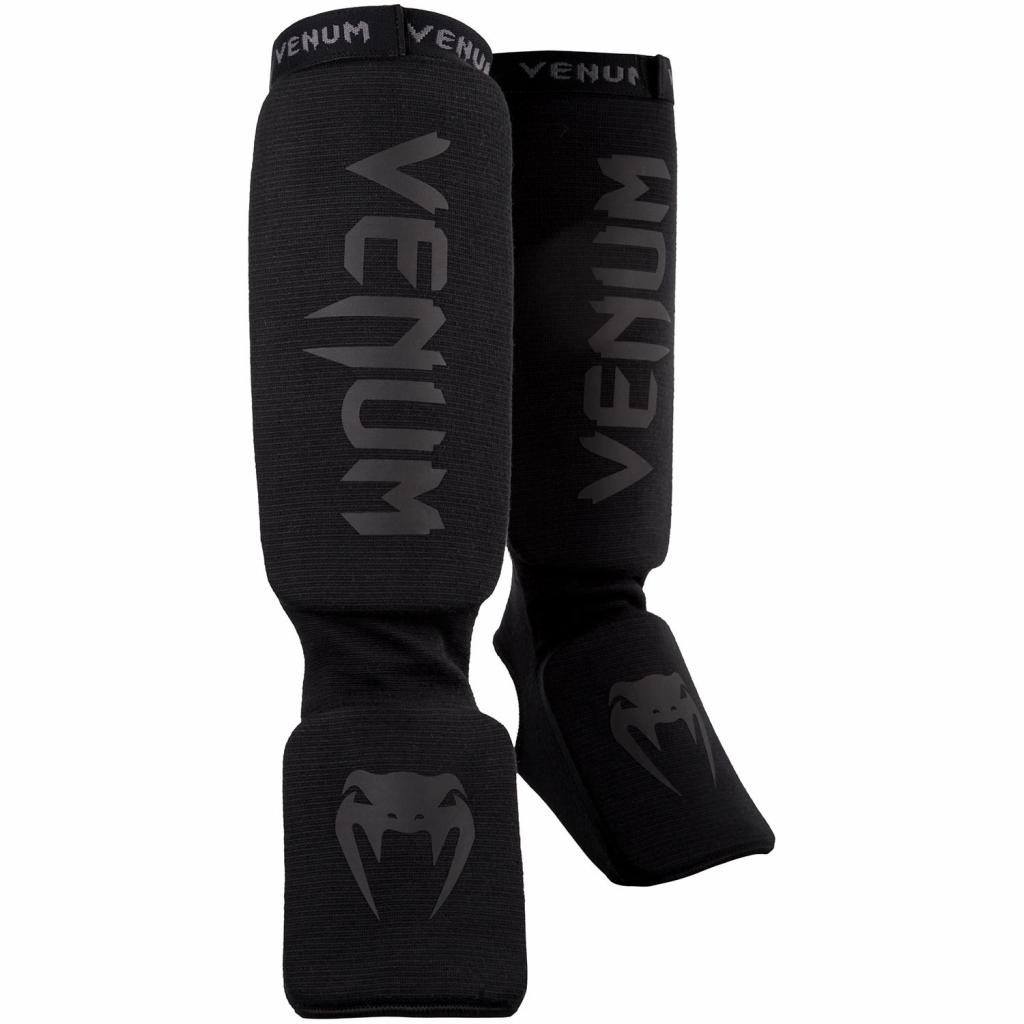 shin instep guard venum black black f1
