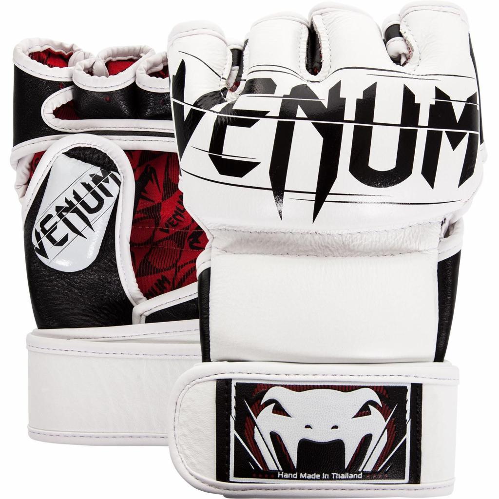 mma gloves rukavice venum undisputed white f1