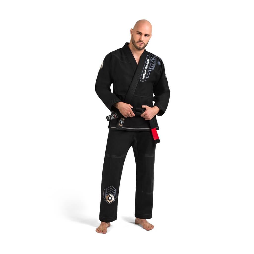 bjj gi kimono hayabusa goorudo 4 black f1