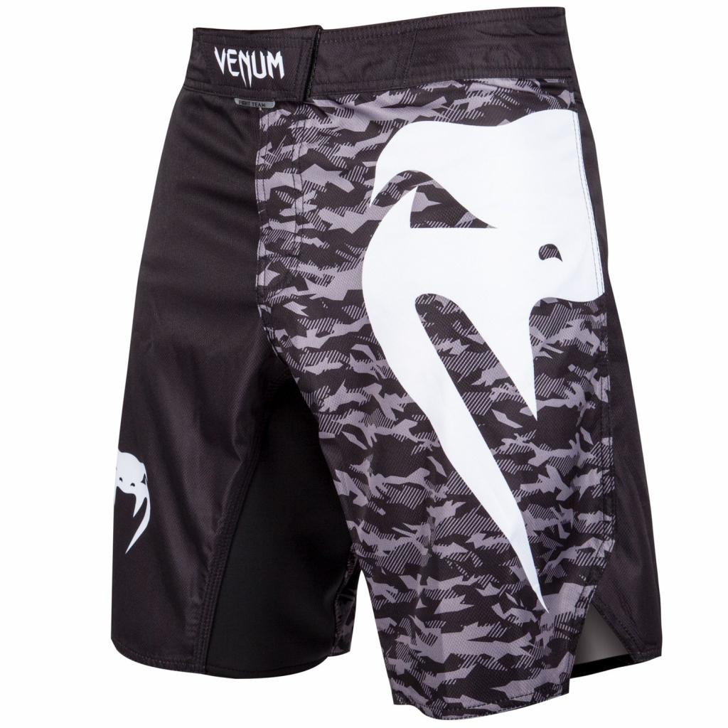 mma shorts venum light 3 black camo f1