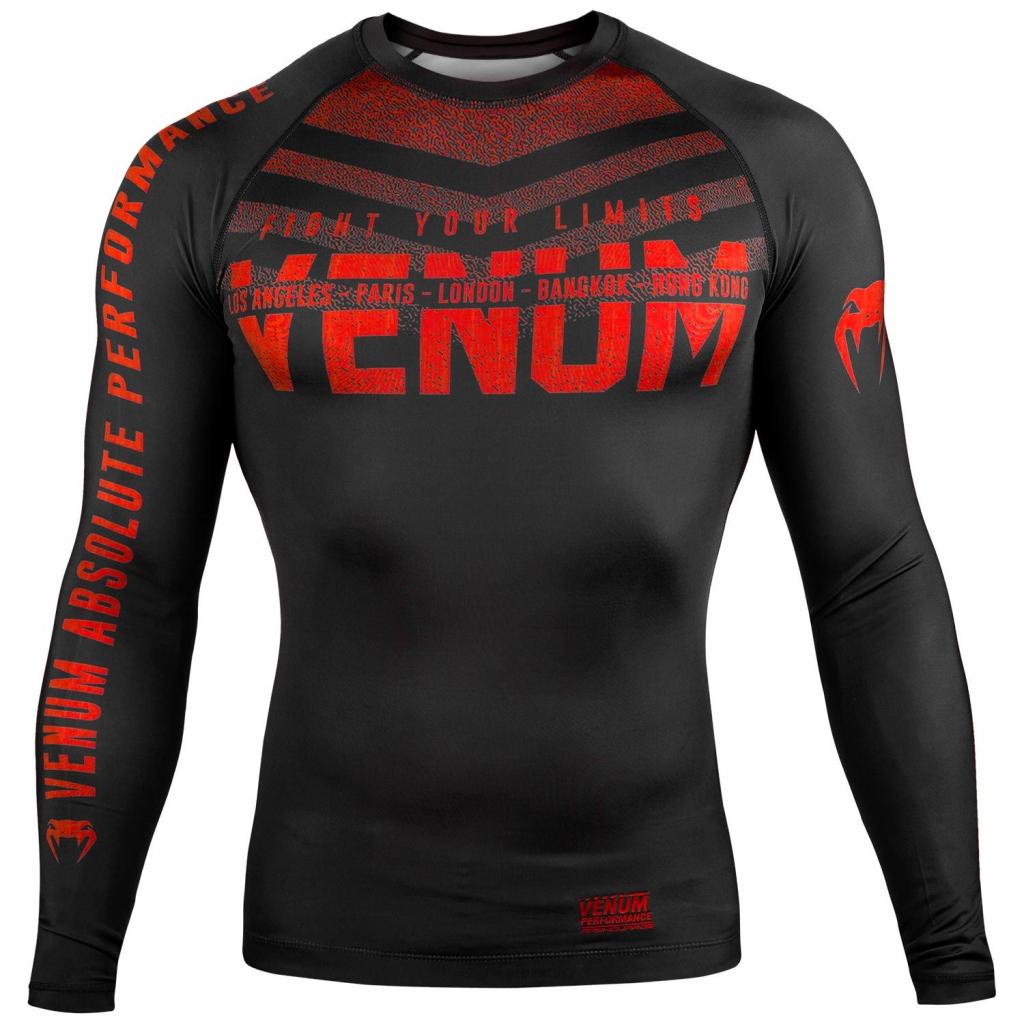 rashguard signature venum long sleeve f1