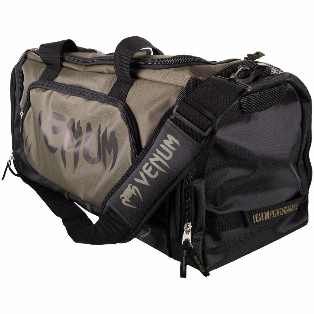venum trainer lite green black sports bag f1