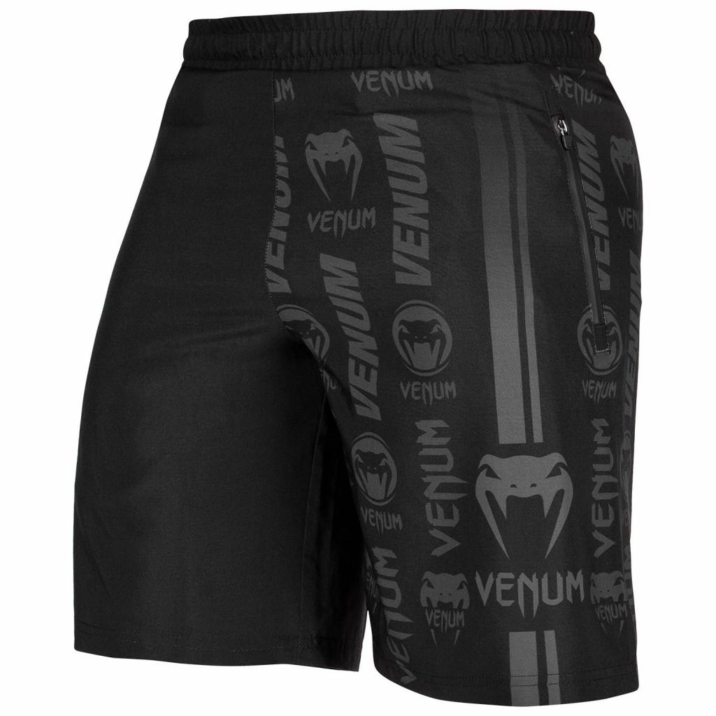 venum 03447 114 training short logos black black f8