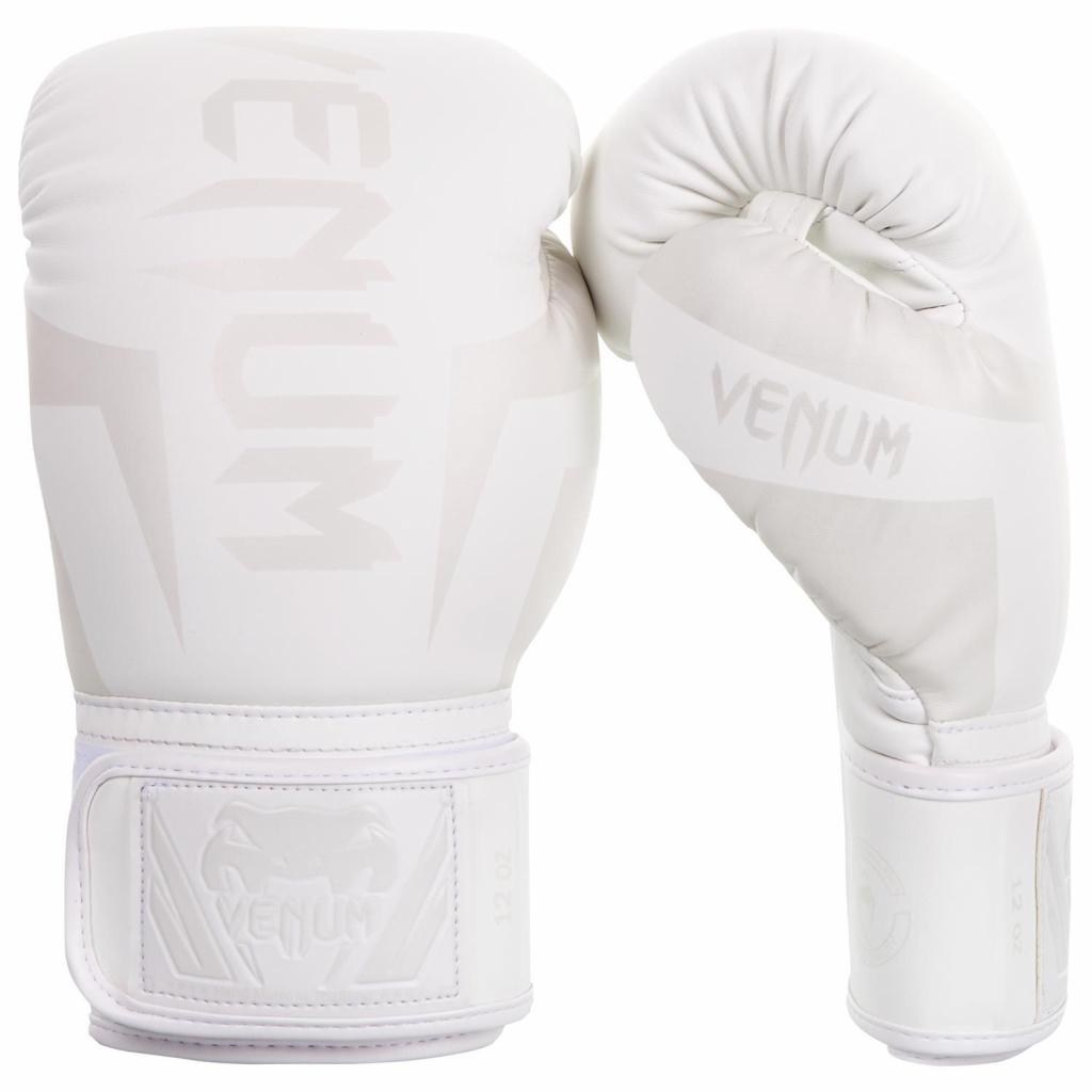 Boxerské rukavice Venum Elite - White White + Boxerská bandáž 3 b1736e7d18