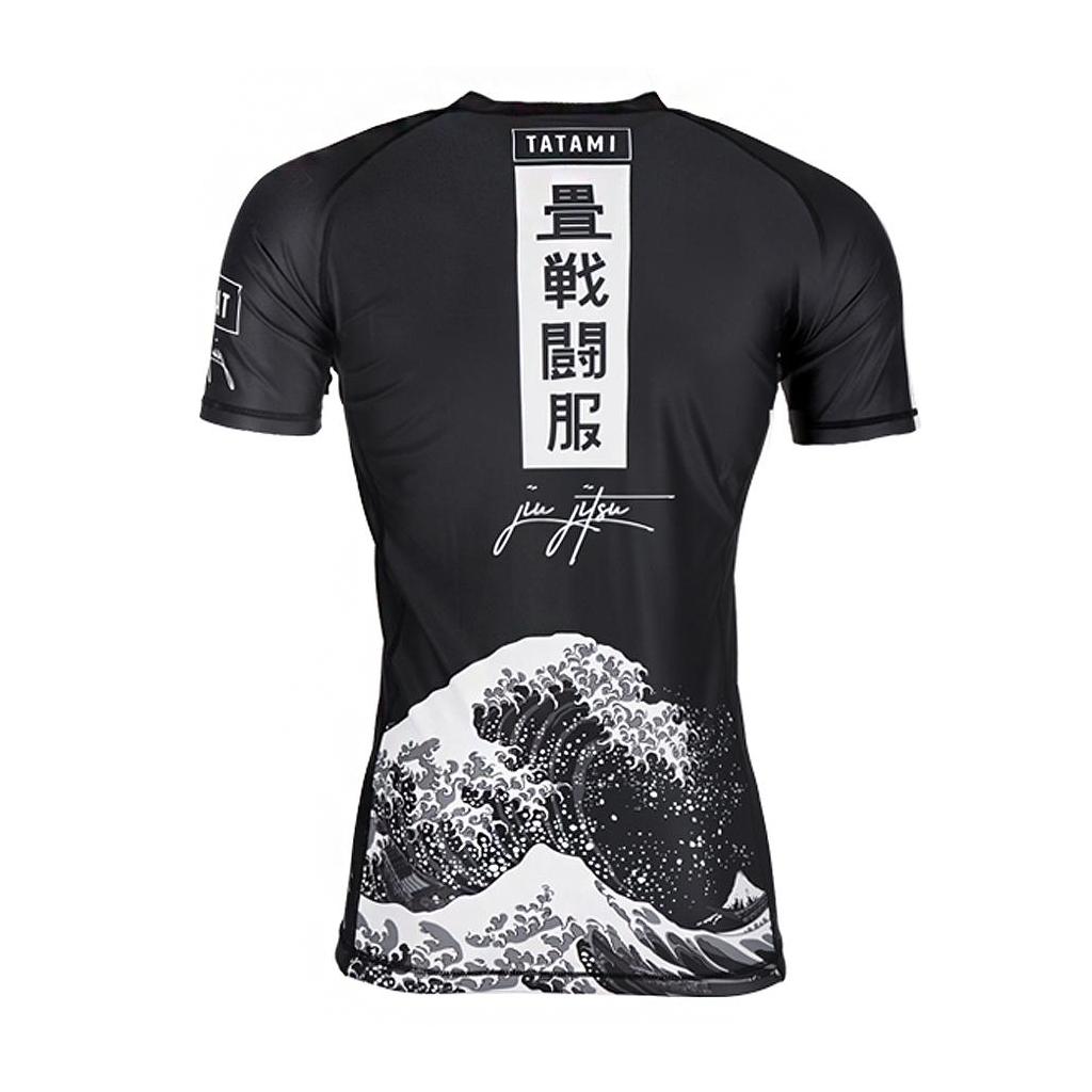 Tatami Fightwear Kanagawa Rashguard Black