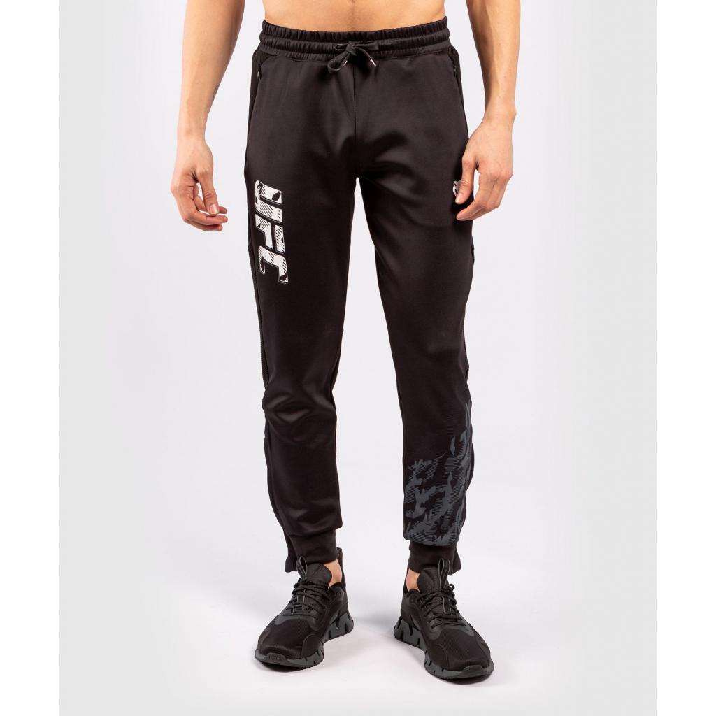 Pants men´s panske teplaky ufc venum fight week black f1