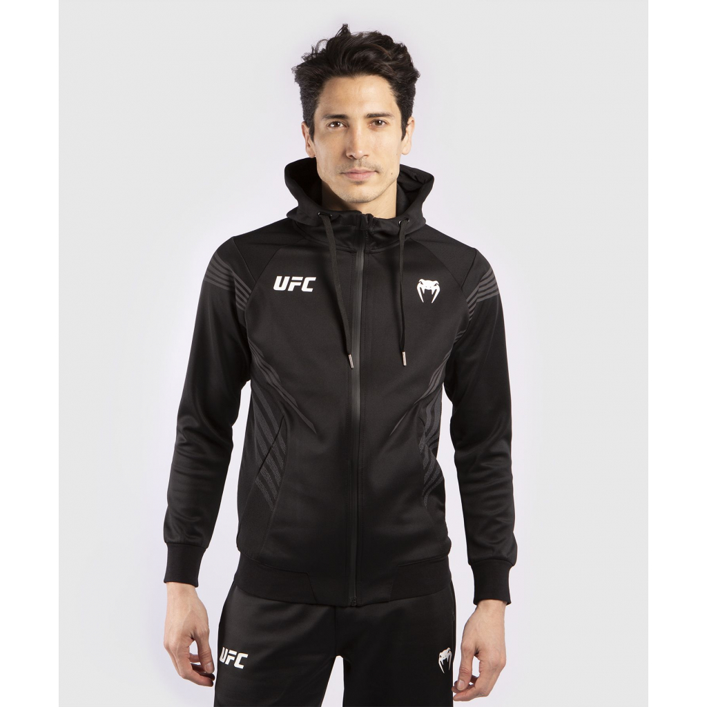 ufc mikina hoodie venum pro line black f1
