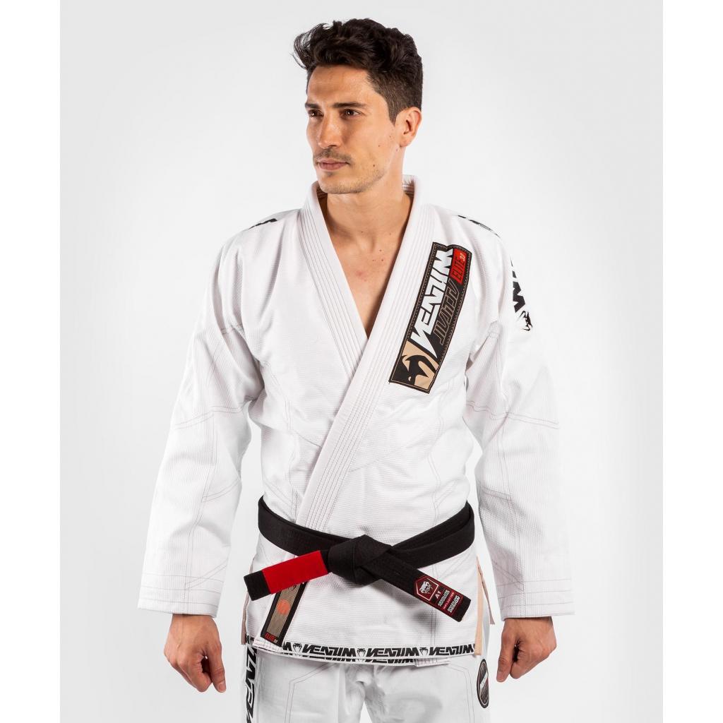 venum kimono bjj jiu jitsu gi elite 3 white bile f1