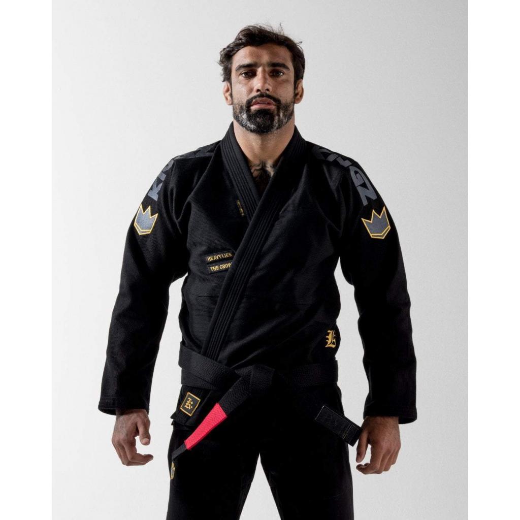 bjj gi kimono jiu jitsu kingz comp 450 v6 black cerne f1