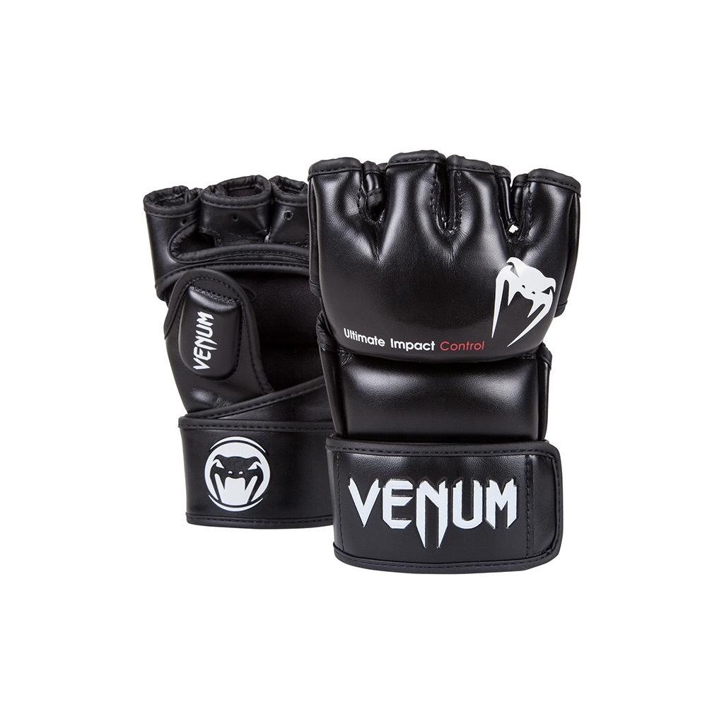 mma gloves impact black 620 01