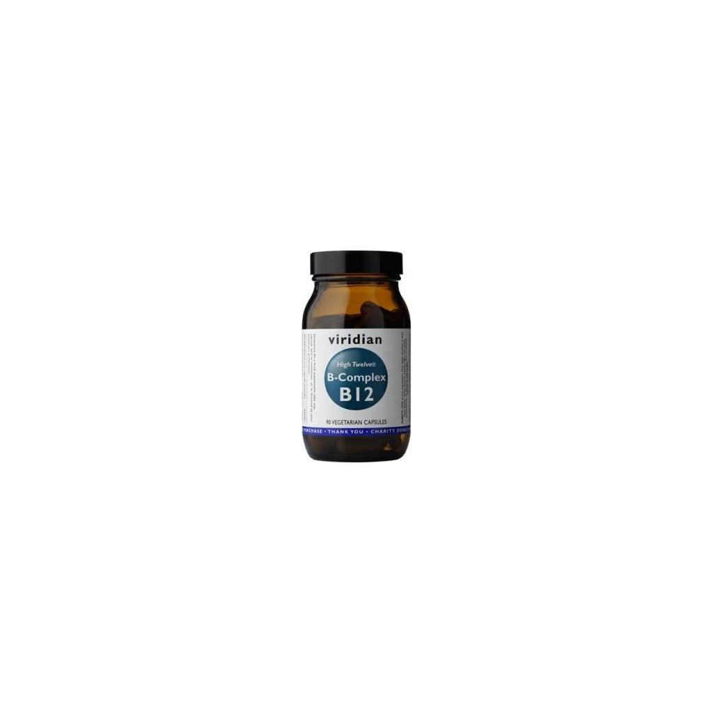VIRIDIAN nutrition B-Complex B12 High Twelwe® 90kapslí