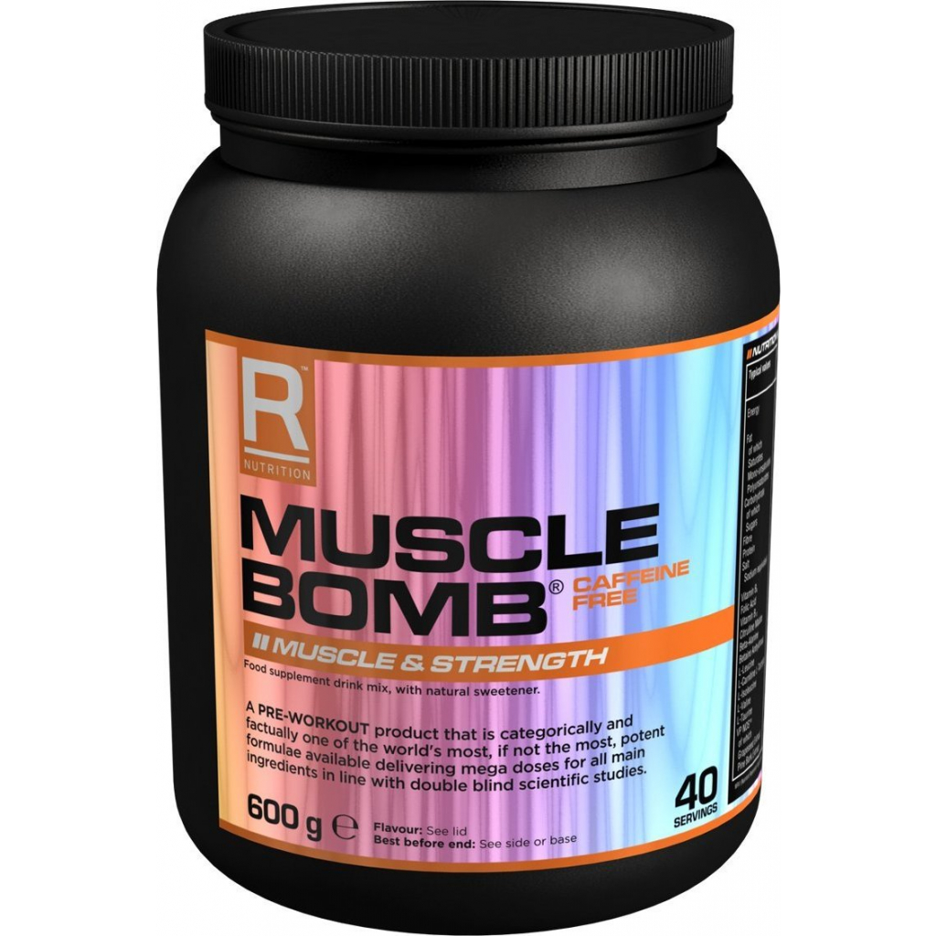 Reflex Nutrition Muscle Bomb Caffeine Free 600g