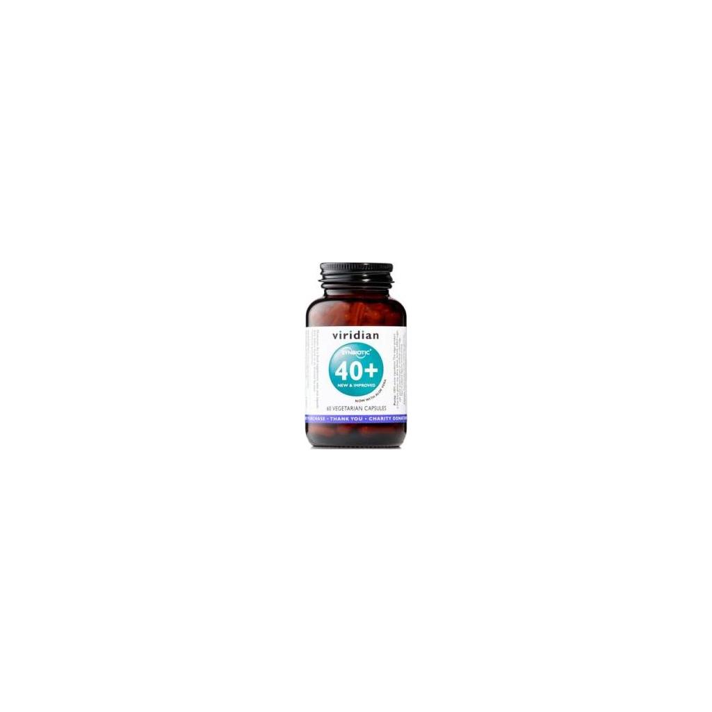 VIRIDIAN nutrition Synbiotic 40+ 60 kapslí