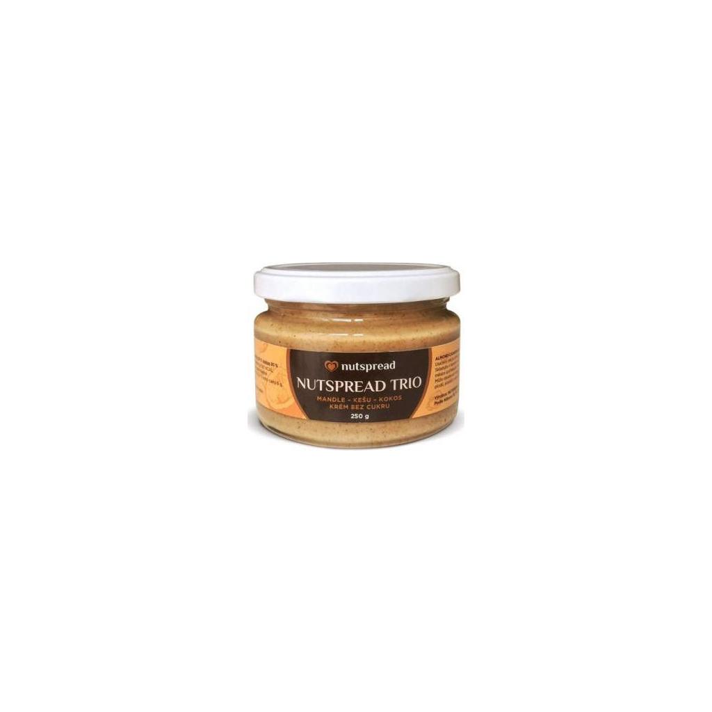 Nutspread 100% Oříškové máslo trio 250g