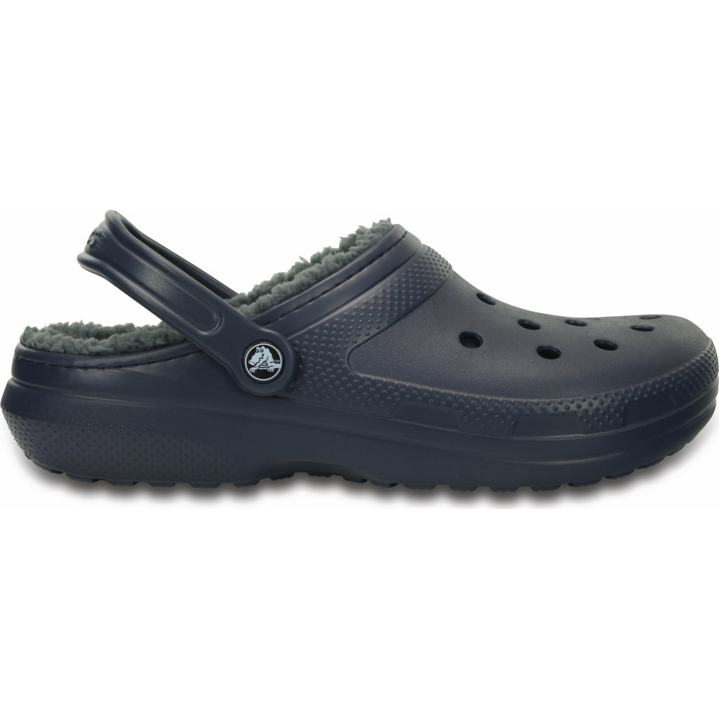 Crocs Classic Lined Clog Navy/Charcoal