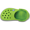 Crocs Crocband Kids - Volt Green/Varsity Blue