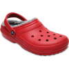 Crocs Classic Lined Clog - Pepper/Silver