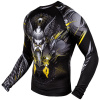rashguard venum viking 2.0 black yellow 02