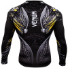 rashguard venum viking 2.0 black yellow 04