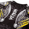 rashguard venum viking 2.0 black yellow 0