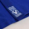 bjj gi kimono valor bravura classic plain modre blue f6