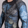 rashguard valor assassin blue f3