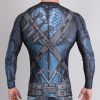 rashguard valor assassin blue f4