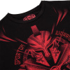 tricko venum tshirt gladiator black red f3