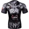 rashguad short sleeve kratky rukav venum werewolf ss black grey fightexpert f4