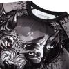 rashguad short sleeve kratky rukav venum werewolf ss black grey fightexpert f5