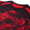 rashguard venum dragons flight black red f6