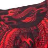 mma shorts short venum dragons black red f7