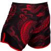 mma shorts short venum dragons black red f4