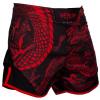 mma shorts short venum dragons black red f2