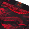 valetudo venum short compression dragons flight black red f5