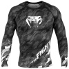 rashguard venum long tecmo dark grey f1