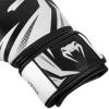 boxing gloves venum rukavice challenger 3.0 black white f2