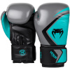 boxing gloves rukavice venum contender 2 grey turquoise black f2