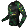 rashguard venum long greenviper black green f2