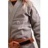 bjj kimono gi kingz balistico 2.0 woman grey f3