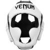 headgear box mma venum elite white black f2