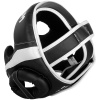 headgear box venum mma elite black white f2